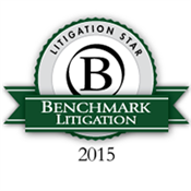 Benchmark Litigation Star15