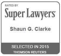 Super Lawyer Shaun Clarke